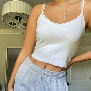 brandy melville lace top!